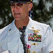 Command Master Chief Bryan Yarbro Art Print