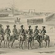 Commemorative Print Depicting Execution Art Print by Everett