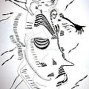 Comoros Islands Dance Art Print
