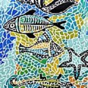 Comotion In The Ocean Art Print