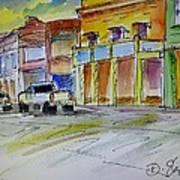 Company Street Art Print