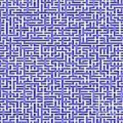 Complex Maze Art Print