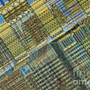 Computer Chip Art Print