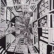 Conceito Art Print by Mario Fresco
