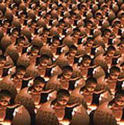 Conceptual Computer Artwork Of Human Cloning Art Print