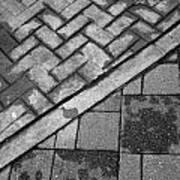 Concrete Tile - Abstract Art Print