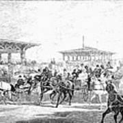 Coney Island, 1877 Art Print