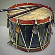 Confederate Drum Art Print