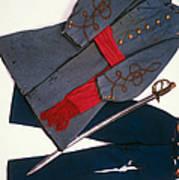 Confederate Uniform Art Print