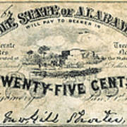 Confedrate Currency Art Print