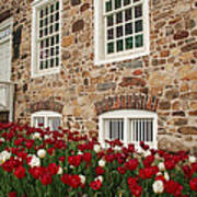 Conference House In Tottenville Art Print