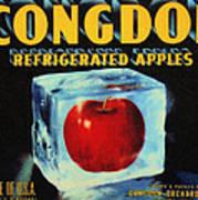 Congdon Refrigerated Apples Art Print