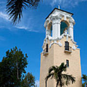 Congregational Church Of Coral Gables Art Print