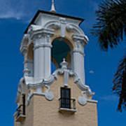 Congregational Church Tower Art Print