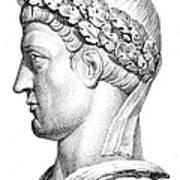 Constantine I (d. 337) Art Print by Granger
