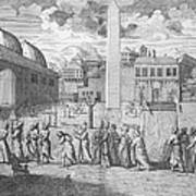 Constantinople, 1727 Art Print