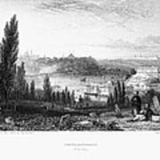 Constantinople, 1833 Art Print by Granger