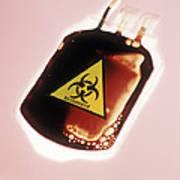 Contaminated Blood Art Print