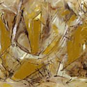 Contemperary Painting 39 Art Print
