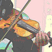 Contorno Fiddle Art Print