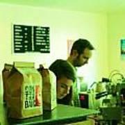 Contraband Coffee Art Print