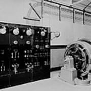 Control Panel And Dynamo Generator Art Print
