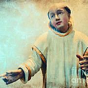 Conversation With God Art Print