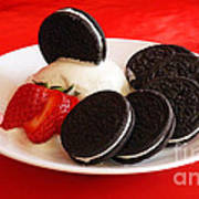 Cookies N Cream Art Print