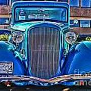 Cool Front End Hdr Art Print