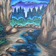 Cool Mountain Water Art Print