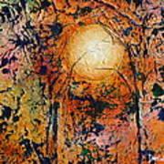Copper Moon Art Print