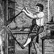 Copper Plate Printer, 1807 Art Print