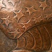 Copper Stars Art Print