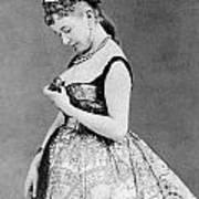 Cora Pearl (c1835-1886) Art Print