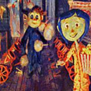 Coraline Circus Art Print