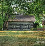 Corbett's Cabin Art Print by Pamela Baker