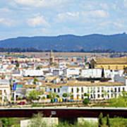 Cordoba Cityscape In Spain Art Print