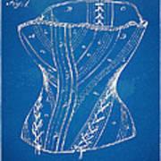 Corset Patent Series 1884 Art Print