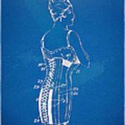 Corset Patent Series 1924 Art Print
