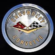 Corvette Name Plate Art Print