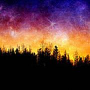 Cosmic Night Art Print