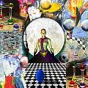 Cosmic Portal Art Print