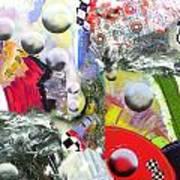 Cosmic Sneeze Art Print