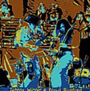 Cosmic Winter Blues 1975 Art Print