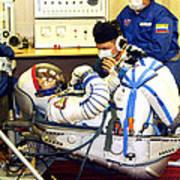 Cosmonaut Training, Soyuz Tma-8 Crew Art Print