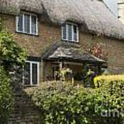 Cotswold Thatched Cottage Art Print
