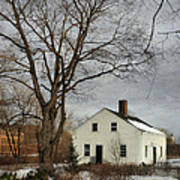 Cottage By The Mill Art Print