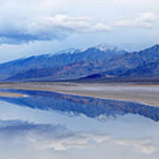 Cottonball Basin Death Valley Art Print