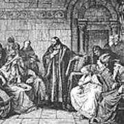 Council Of Constance, 1414 Print by Granger