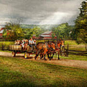 Country - Horse - Life's Pleasures Art Print